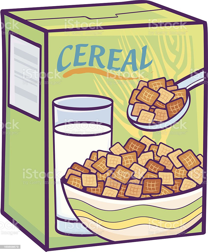 hight resolution of healthy cereal royalty free healthy cereal stock vector art amp more images of bowl