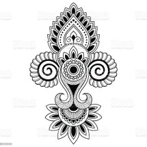 Paisley Flowers Henna Tattoo Design Year Of Clean Water