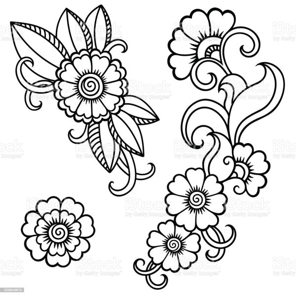 20 Simple Flower Tattoos Vector Ideas And Designs