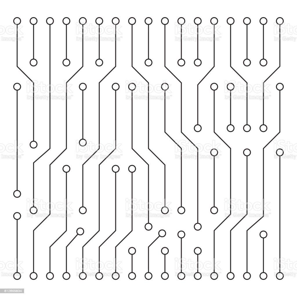 hight resolution of high tech circuit board texture beautiful banner wallpaper design illustration royalty free high tech