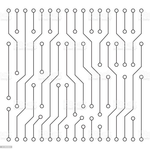 small resolution of high tech circuit board texture beautiful banner wallpaper design illustration royalty free high tech