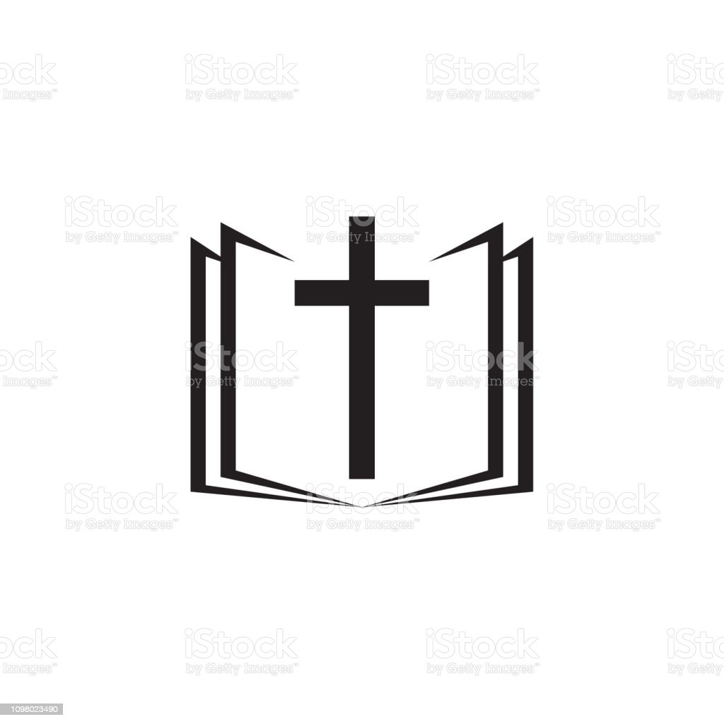 holy bible icon with