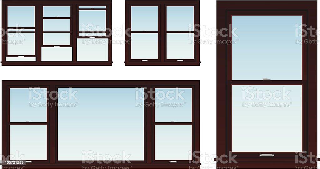 royalty free sash window clip art