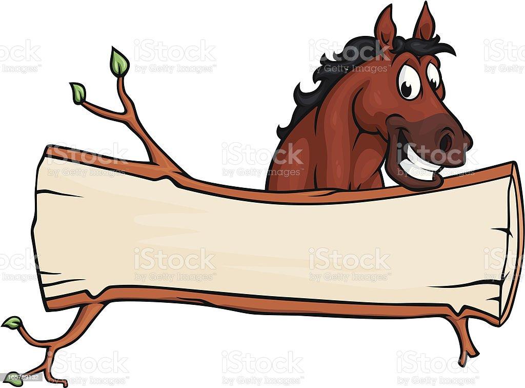 funny horse illustrations