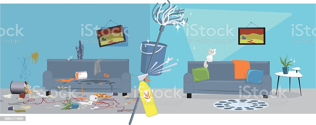 Top 60 Clean House Clip Art Vector Graphics and