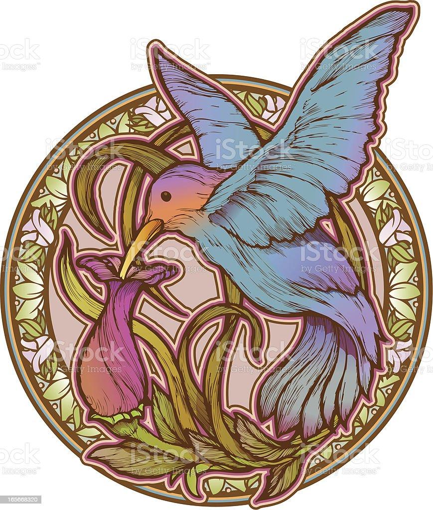 hummingbird clip art vector