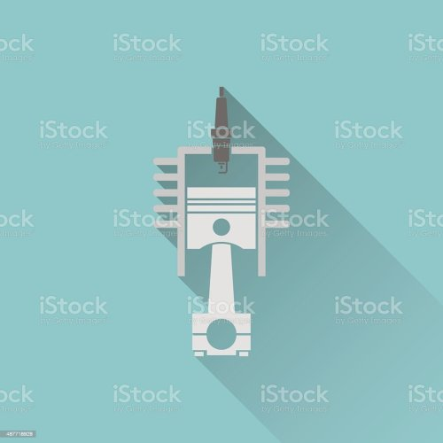 small resolution of icon of engine piston and cylinder illustration