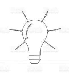 idea one line drawing royalty free idea one line drawing stock vector art amp  [ 1024 x 775 Pixel ]