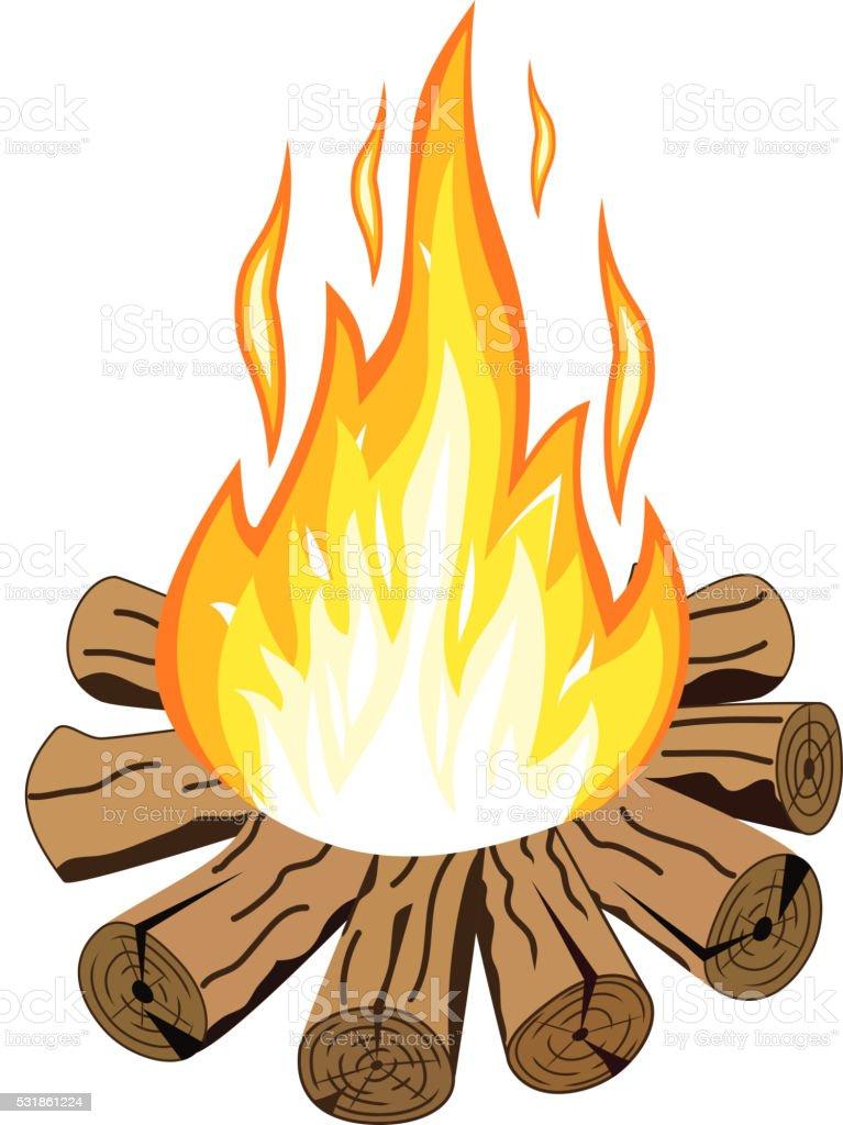 > bonfire cartoon