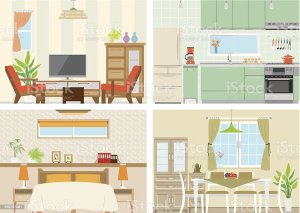dining clipart living vector illustration clip bedroom illustrations things know istock four should cartoons cliparts istockphoto signature related similar graphics