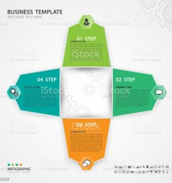 infographic elements template vector 3d diagram with 4 steps flow chart process chart [ 1024 x 1024 Pixel ]