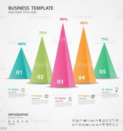 infographics elements diagram with 5 steps options vector illustration pyramid 3d icon  [ 1024 x 1024 Pixel ]