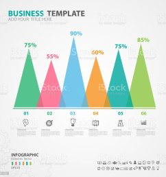 infographics elements diagram with 6 steps options vector illustration pyramid icon presentation [ 1024 x 1023 Pixel ]