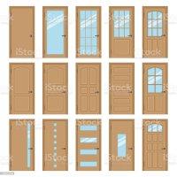Interior Doors Stock Vector Art & More Images of