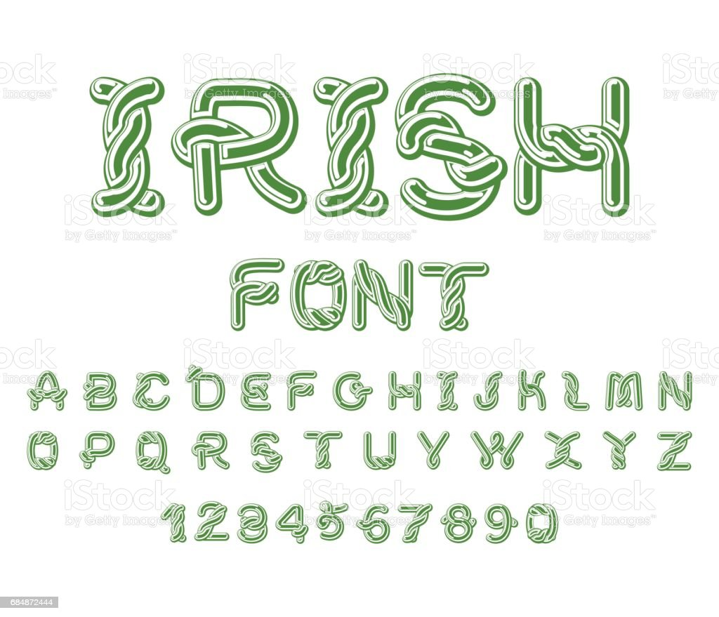 irish font national celtic