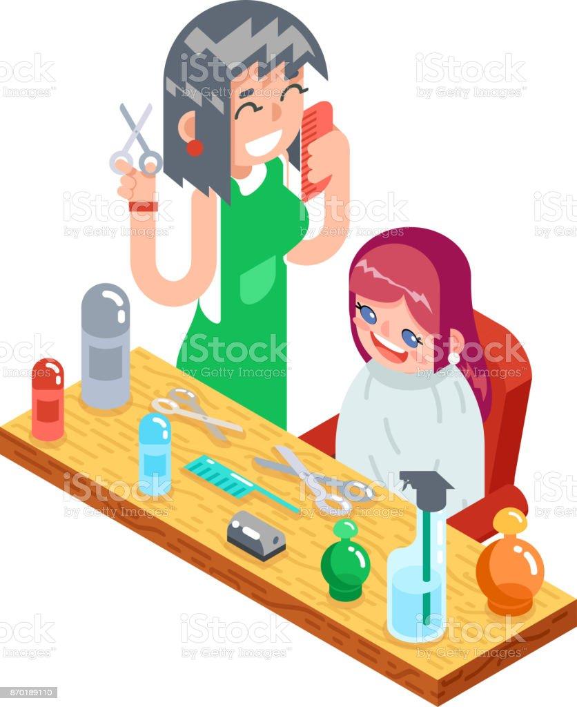 Friseur Kinder Haarschnitt  Friseur