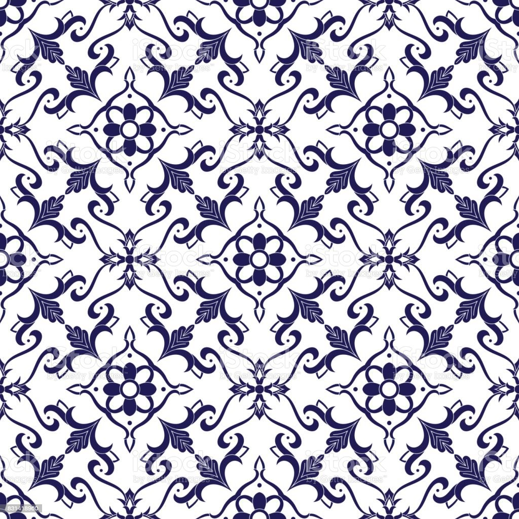 italian tile pattern vector stock illustration download image now istock