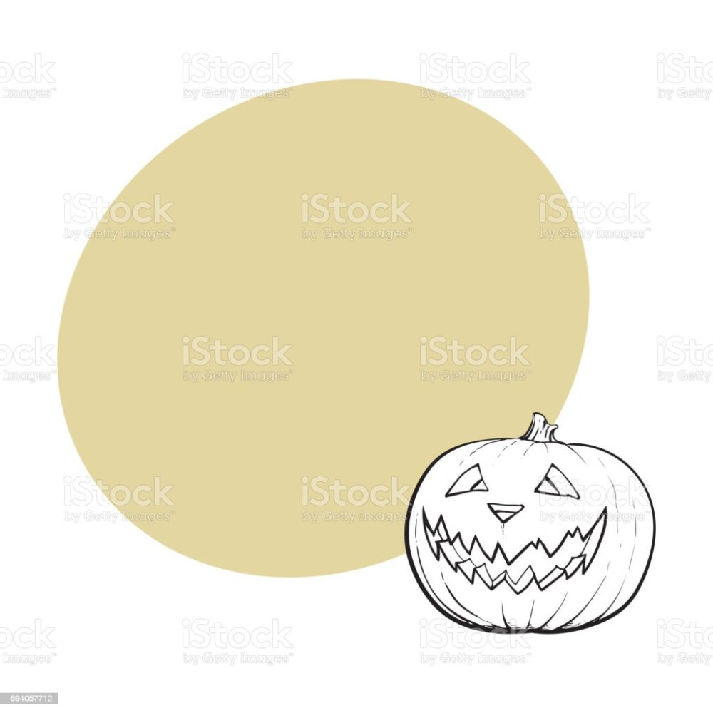 medium resolution of jack o lantern pumpkin with scary face traditional halloween symbol royalty free jack o