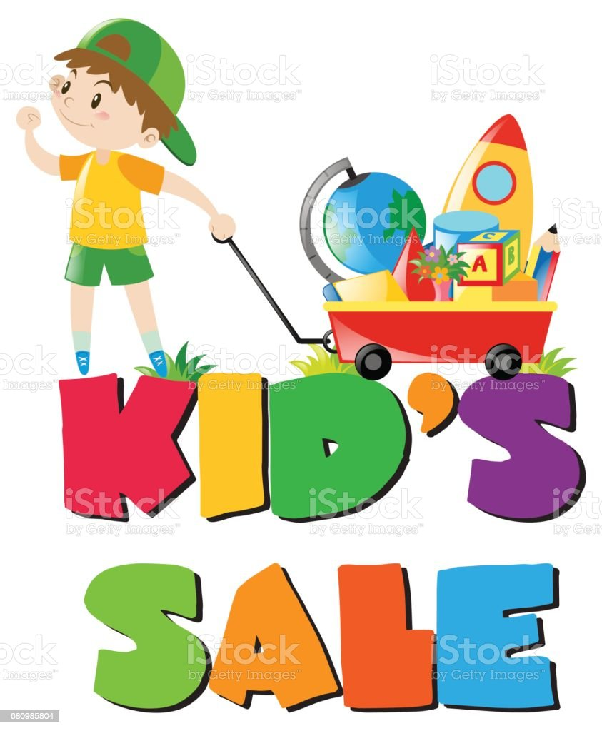 Royalty Free Kid Pulling Wagon Clip Art Vector Images