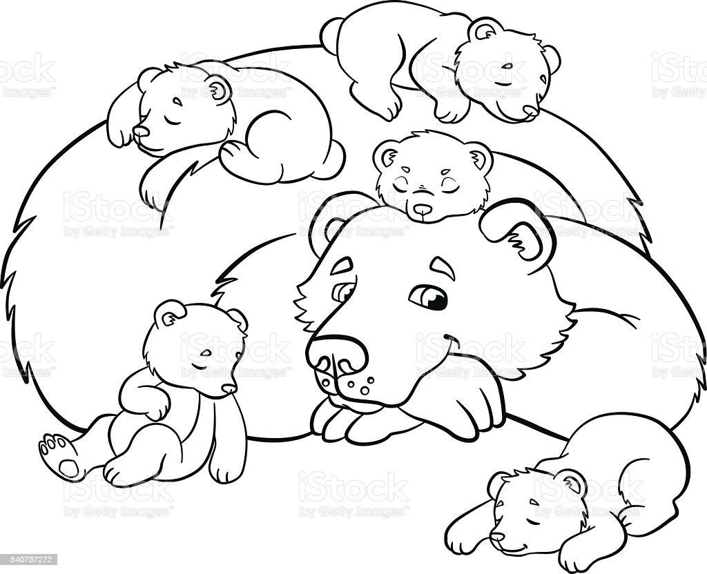 Bären Zum Ausmalen - Malvorlagen Gratis