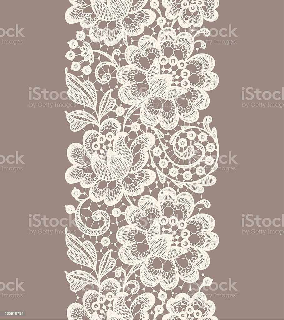 Lace Seamless Pattern Ribbon Stock Vector Art & More