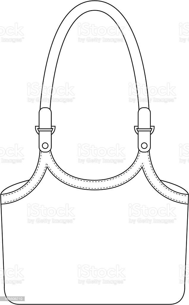 Ladies Shopping Bag Template Stock Vector Art & More