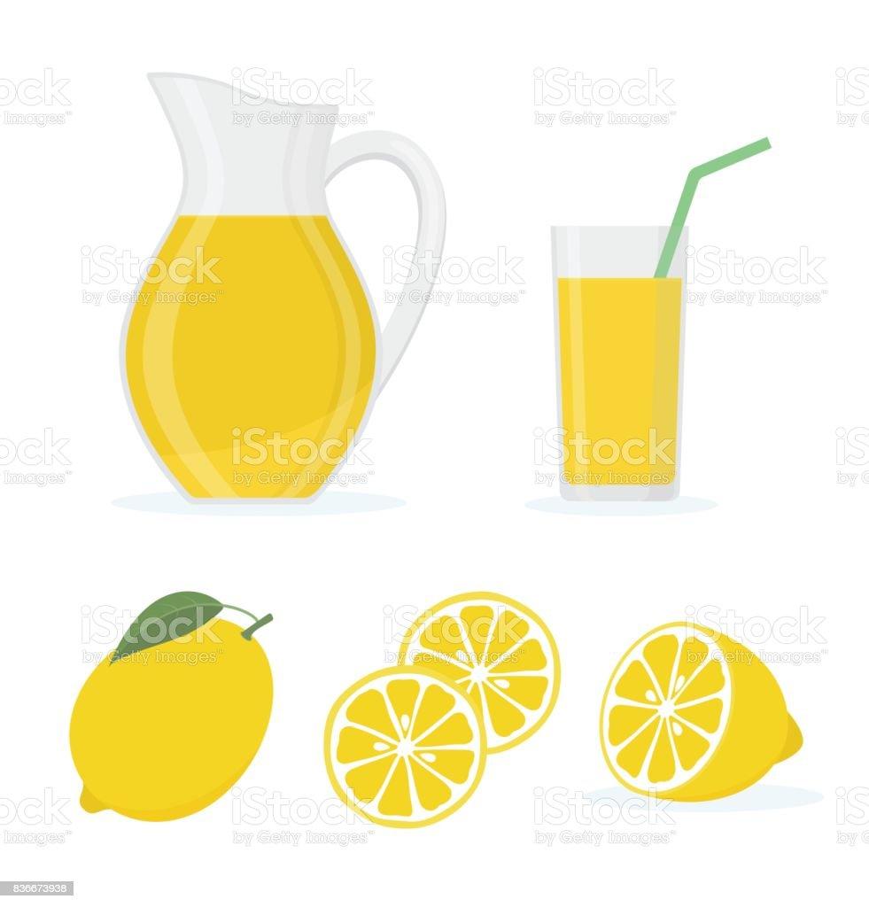 lemonade pitcher illustrations