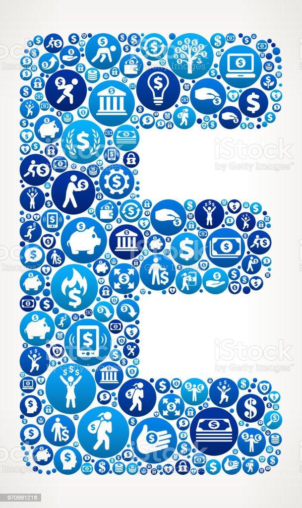 Logo E Money Vector : money, vector, Letter, Money, Pattern, Background, Stock, Illustration, Download, Image, IStock