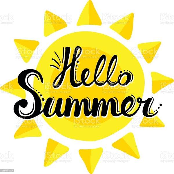 lettering summer background