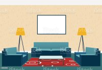 Royalty Free Animated Living Room Clip Art, Vector Images ...
