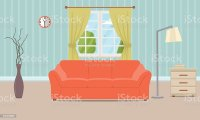 Royalty Free Living Room Clip Art, Vector Images ...