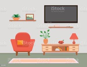 living furniture clip vector illustrations armchair interior similar graphics cartoons