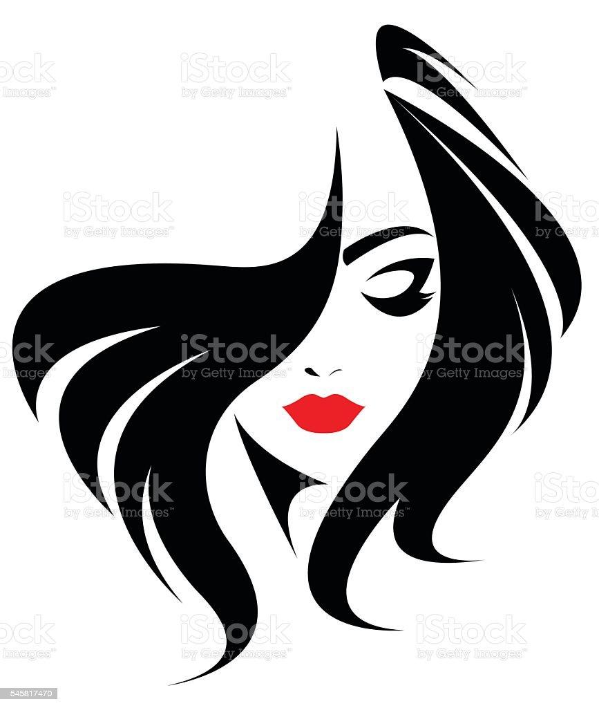 best black hair illustrations