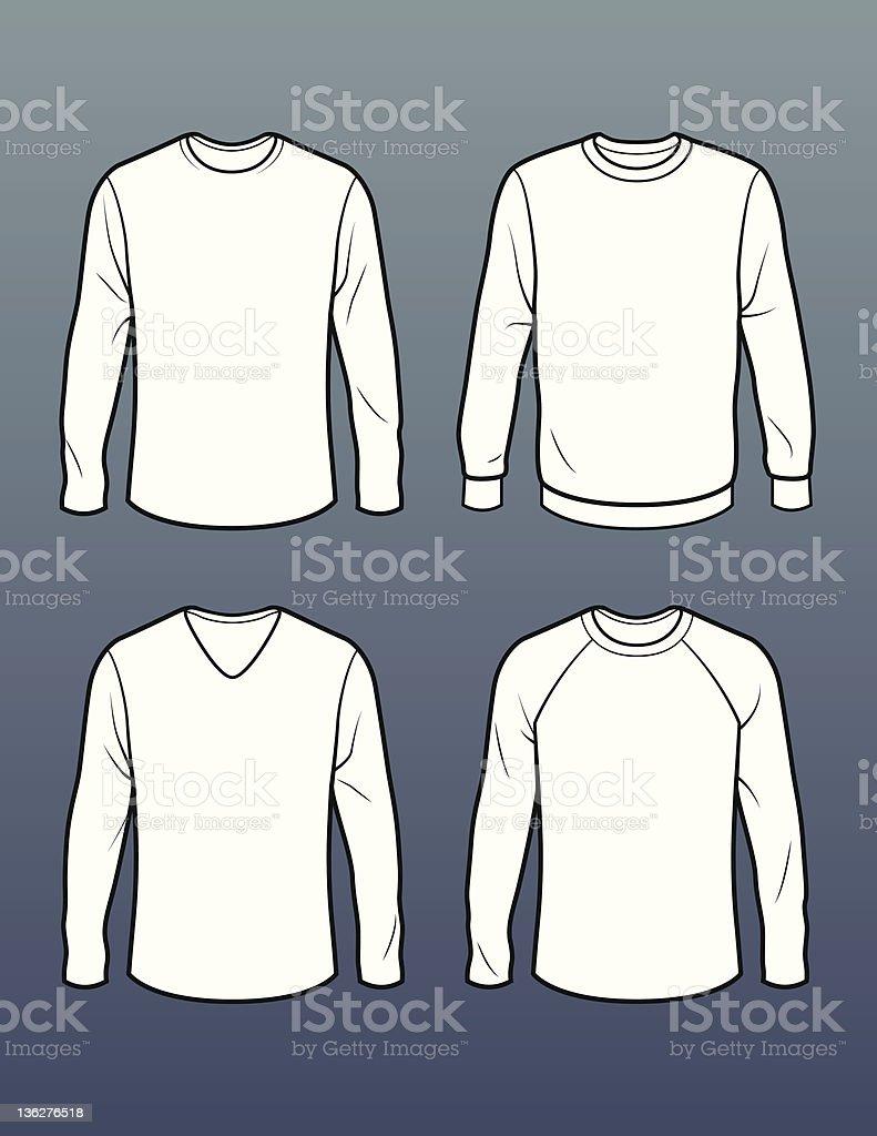 Vector Long Sleeve T-Shirts | TeePublic