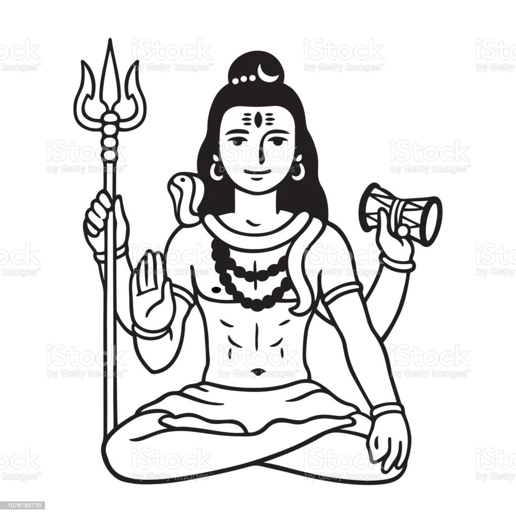 Tattoo Shiva Drawing Art Creative Ideas