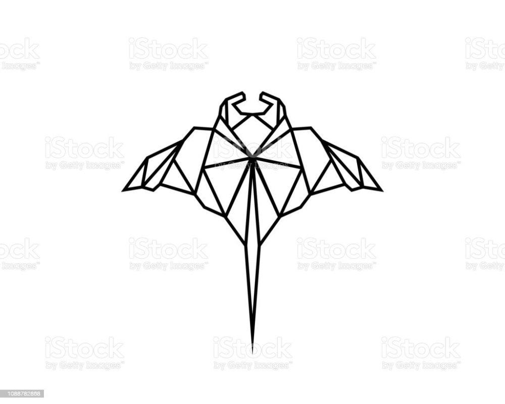 medium resolution of manta ray line royalty free manta ray line stock illustration download image now