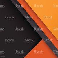 Material Design Wallpaper Gray Orange Stock Vector Art ...