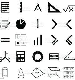 math icon set royalty free math icon set stock vector art amp more images [ 1024 x 1024 Pixel ]