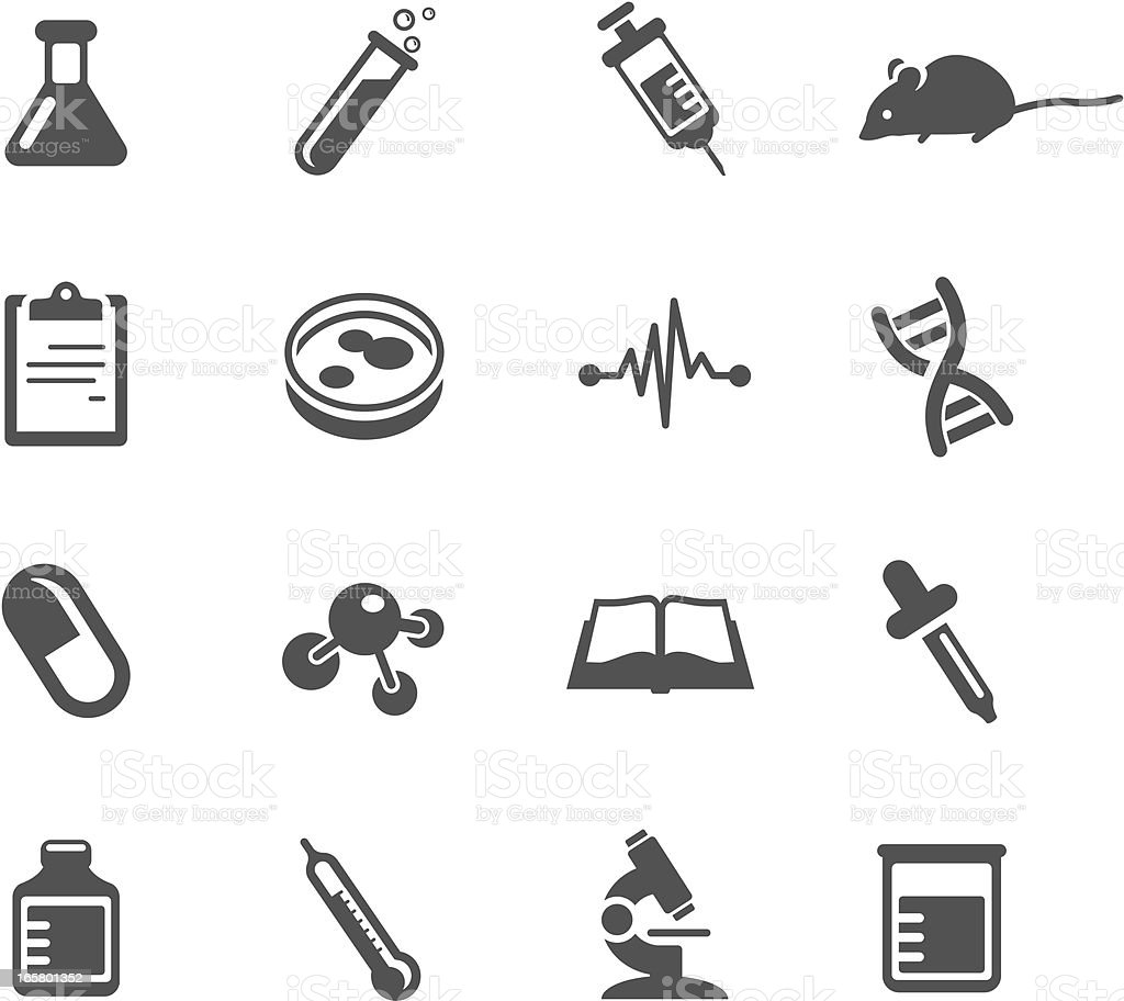 Medical Research Symbols Stock Vector Art & More Images of