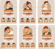 mens haircut and hairstyle side