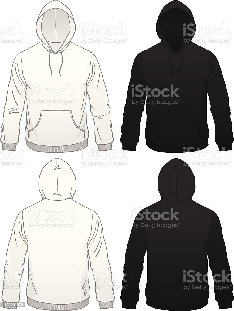 Black Hoodie Template Vector Images (over 930)