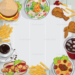 menu background food template illustrate vector culture objects restaurant breakfast business entertainment arts illustration thailand