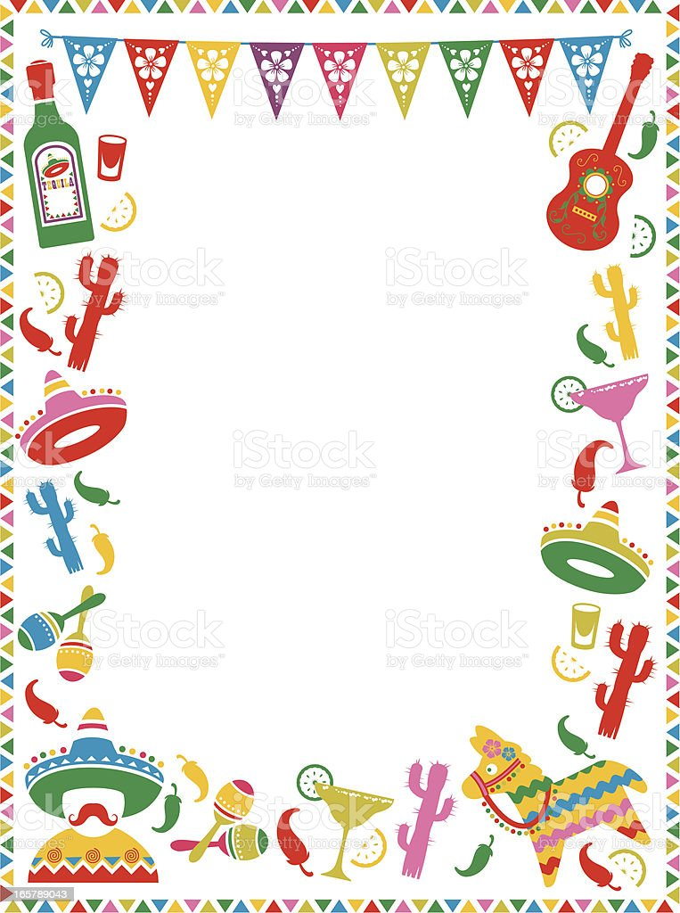 mexican fiesta illustrations