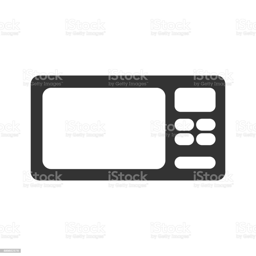 hight resolution of microwave icon simplified microwave icon vector kitchen cooking electrical food tool design web template illustration