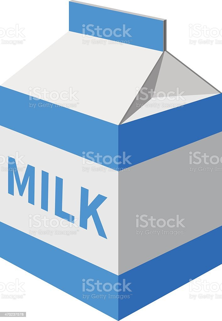 milk carton illustrations