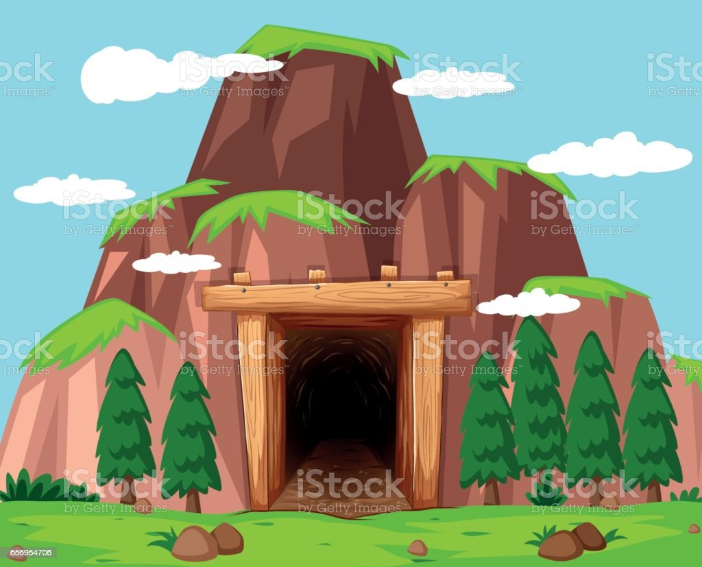 Free Cave Entrance Clipart And Vector Graphics Clipart Me