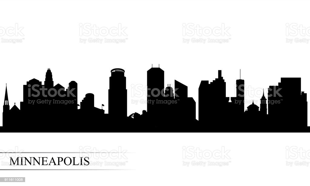 Royalty Free Minneapolis Skyline Clip Art Vector Images