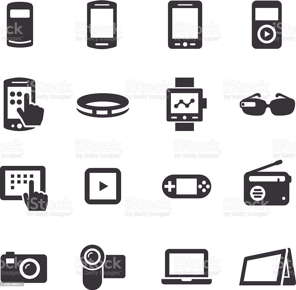 Mobile Devices Icon Acme Series Stock Vector Art & More