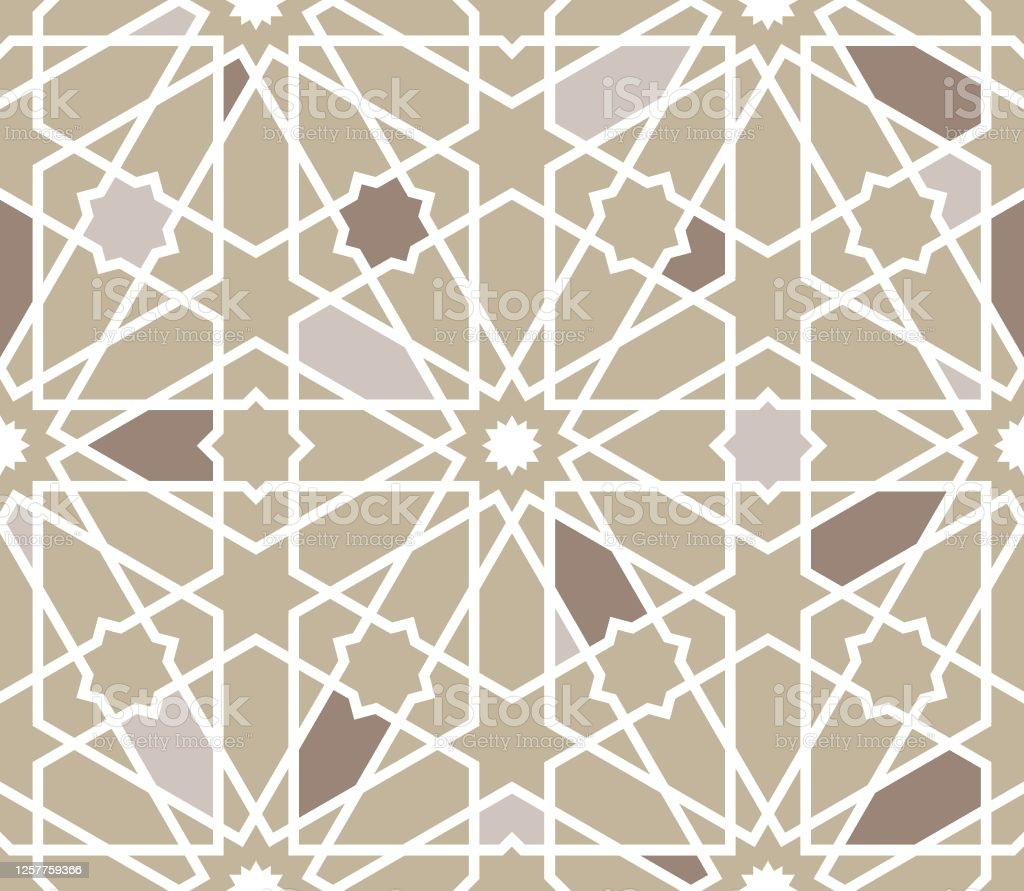 moroccan islamic style geometric tile pattern stock illustration download image now istock
