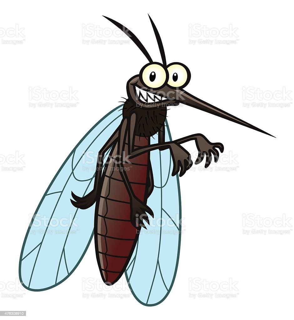 mosquitoes clip art vector
